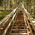 Stairs to Skeena River